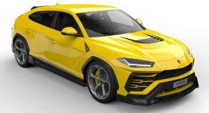 Vorsteiner Previews Eye-Catching Lamborghini Urus Bodykit