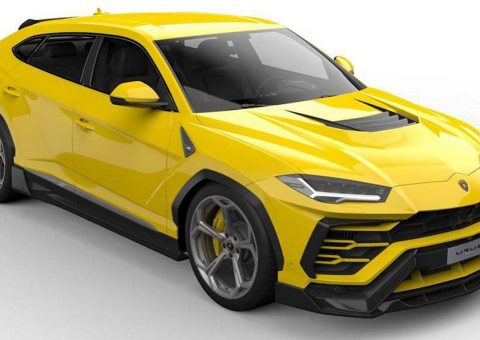 Vorsteiner Previews Eye-Catching Lamborghini Urus Bodykit