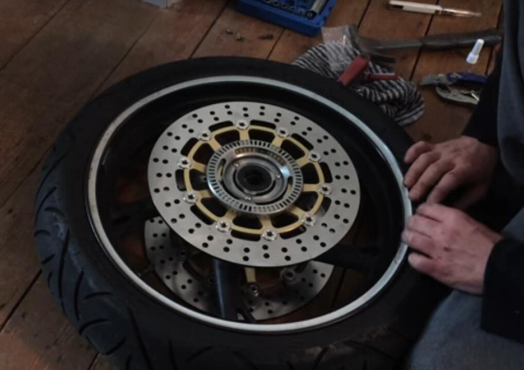 Replace and Maintain Motorcycle Brakes
