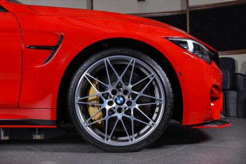 Ferrari-Red-BMW-M4-Easy-to-Stand-Out-On-the-Road-10