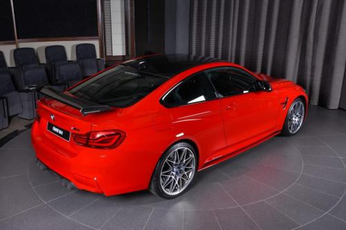 Ferrari-Red-BMW-M4-Easy-to-Stand-Out-On-the-Road-18