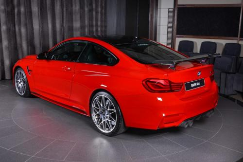 Ferrari-Red-BMW-M4-Easy-to-Stand-Out-On-the-Road-19