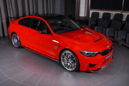Ferrari-Red-BMW-M4-Easy-to-Stand-Out-On-the-Road-2
