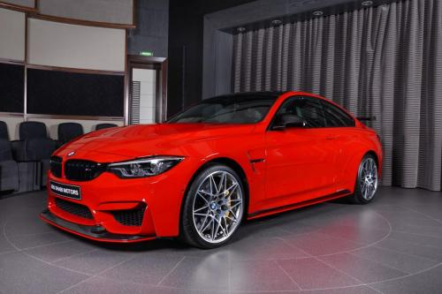 Ferrari-Red-BMW-M4-Easy-to-Stand-Out-On-the-Road-4