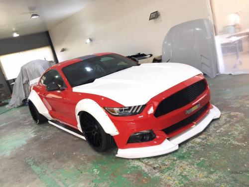 Ford-Mustang-Tuning-Liberty-Walk-Wide-Body-Kit-1
