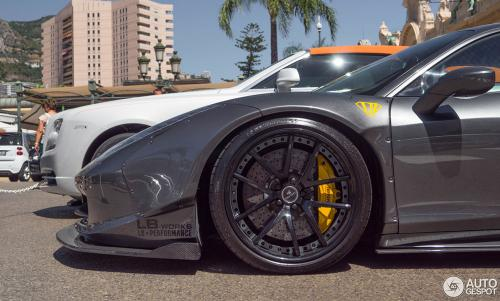 Met-A-Gray-Metallic-Liberty-Walk-Ferrari-458-on-Monaco-Street-5