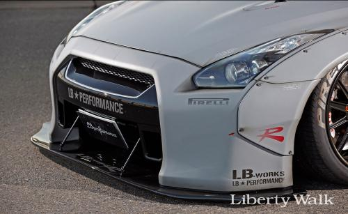 Nissan-GT-R-New-Body-Kit-Parts-Released-By-Liberty-Walk-5