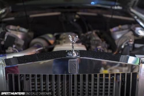 Rolls-Royce Phantom Change to Toyota Supra 2JZ-GTE 1000 hbp Engine