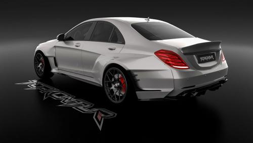 Russian-Tuner-Digitally-Imagines-New-Mercedes-Benz-S-Class-With-Extra-Wide-Fender-2