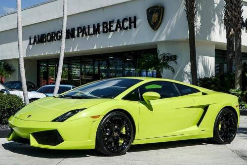Verde-Scandal-Lamborghini-Gallardo-are-on-sale-at-Palm-Beach-store-1